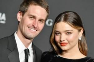 Nachwuchs: Miranda Kerr und Evan Spiegel bekommen zweites Kind