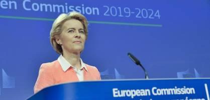Kommission unter Ursula von der Leyen nimmt Arbeit erst später auf