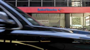 Quartalszahlen: Bank of America verdient trotz Milliardenabschreibung mehr als erwartet