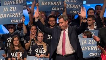 csu-parteitag: markus söder als kanzler? habe meinen traumjob gefunden