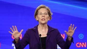 Demokraten-TV-Debatte: Warren ist neues Ziel parteiinterner Attacken