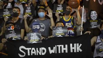 US-Gesetzentwurf: Neue Spannungen zwischen China und USA wegen Hongkong