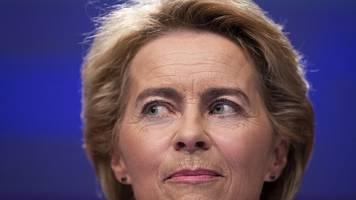 Veto gegen drei Kandidaten: EU-Parlament verschiebt von der Leyens Kommissions-Start