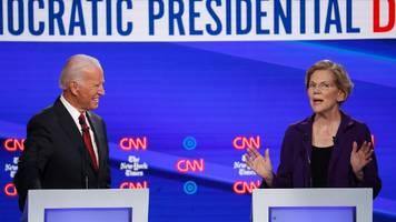 Vierte TV-Debatte der US-Demokraten – Wird der Wahlkampf zum Duell zwischen Warren und Biden?
