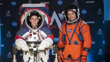 Druckanzug für Außeneinsätze: Nasa stellt neue Raumanzüge für künftige Mondspaziergänge vor
