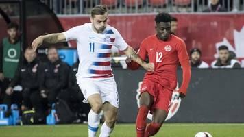 davies trifft: us-team verliert zum ersten mal seit 1985 gegen kanada