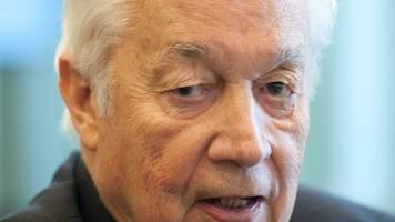 Ehemaliger DFB-Chefankläger Horst Hilpert gestorben