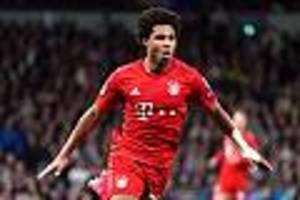 Transfergerücht - 80 Millionen Ablöse! Real Madrid nimmt wohl Bayern-Star Gnabry im Visier
