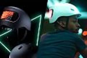lumos matrix im apple store - apple mit kurioser neuheit: iphone-hersteller verkauft futuristischen helm