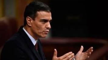 Spanien will Gewalt in Katalonien beenden