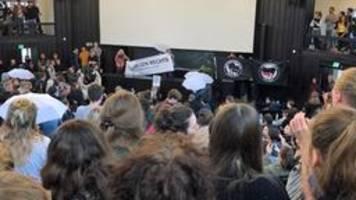 Uni Hamburg: Proteste gegen AfD-Mitbegründer Lucke