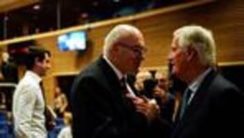 Großbritannien: Unterhändler einigen sich auf EU-Austrittsabkommen