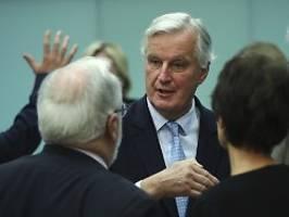 brexit-teufel liegt im detail: unterhändler hoffen auf deal nach eu-gipfel
