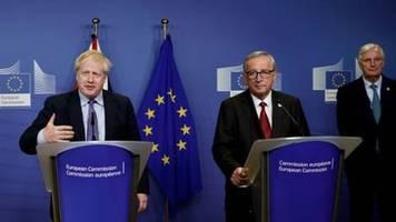 durchbruch bei brexit-verhandlungen kurz vor eu-gipfel in brüssel