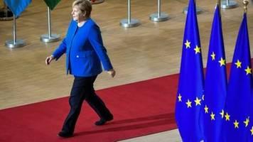 Merkel begrüßt Brexit-Einigung vor EU-Gipfel