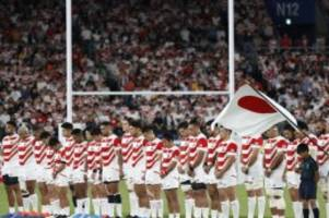 Überraschungsmannschaft: Gastgeber Japan will bei Rubgy-WM Geschichte schreiben