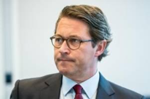 Verkehr: Scheuer will wichtige Infrastruktur-Projekte beschleunigen