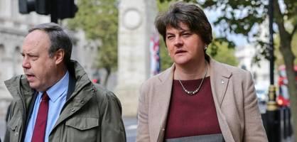 johnsons regierungspartner will brexit-deal nicht unterstützen