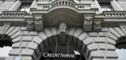 Vermögende: CS führt Negativzinsen für Privatkunden ein