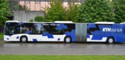eth zürich verbannt diesel: batterie-busse sind auf dem vormarsch