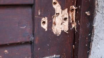 Halle: Synagogentür von Halle soll Ort des Gedenkens werden