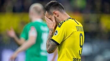 Bundesliga: Gegen Gladbach: BVB weiter ohne Stürmer Paco Alcacer