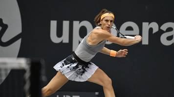 WTA-Turnier: Petkovic gibt auf im deutschen Duell gegen Lottner