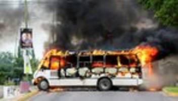 mexiko: nationalgarde musste sohn von el chapo laufen lassen