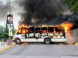 Heftiger Straßenkampf in Mexiko: Festnahme von El Chapo-Sohn eskaliert