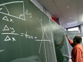 problemfeld naturwissenschaften: viele neuntklässler in mathematik schlecht