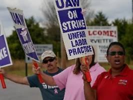 Trotz vorläufiger Einigung: GM-Mitarbeiter streiken weiter
