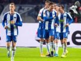Wie Hertha und Union vor dem achten Spieltag dastehen