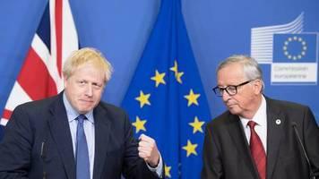 Nach Durchbruch bei EU-Gipfel: Brexit-Showdown am Samstag: Eine Hürde muss Johnson noch nehmen