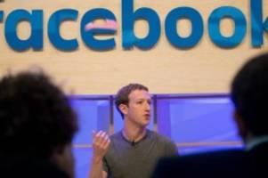 Aussagen in Werbeanzeigen: Zuckerberg verteidigt Umgang mit Politiker-Behauptungen