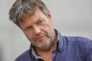 Verdächtig ist ein 27-Jähriger: Morddrohung gegen Grünen-Chef Habeck im Thüringer Wahlkampf