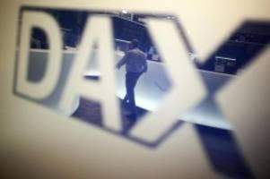 Börse in Frankfurt: Dax zum Handelsauftakt mit leichtem Verlust
