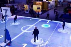 Interaktives Spielfeld: Premiere im Supercup der Volleyballer - Boden als Extra