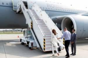 Gewitter: Turbulenzen: Flieger von Kate und William muss umdrehen
