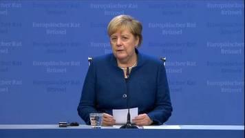Video: Merkel über Brexit: Großbritannien wird Vorteile verlieren