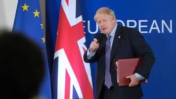 neuer brexit-deal: jetzt wollen alle nur, dass die briten endlich aus der tür treten und gehen