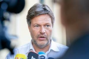 Straftat: Im Wahlkampf: Grünen-Chef Robert Habeck erhält Morddrohung