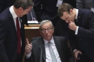 Tusk: Bitte gebt nicht auf: Juncker geht verbittert: Historischer Fehler im Westbalkan
