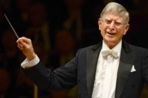 Konzertkritik: Elbphilharmonie: Herbert Blomstedt einfach meisterhaft