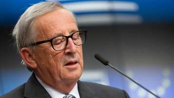 EU-Gipfel: Scheidender EU-Kommissionschef Juncker weint zum Abschied