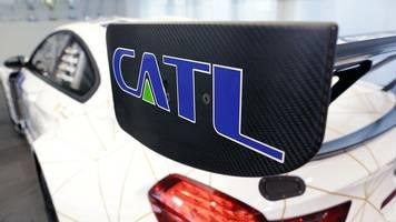 Elektromobilität: Chinesische CATL startet Bau von deutscher Batteriezellenfabrik