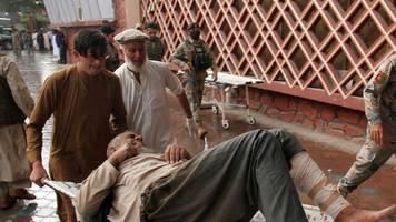 anschlag: 62 tote und 36 verletzte bei explosion in moschee in ostafghanistan