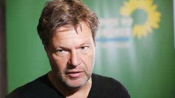 Landtagswahlkampf: Drohungen gegen Grünen-Chef Habeck: Polizei durchsucht Wohnung