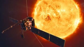 erforschung der sonne: forschungssonde solar orbiter geht auf die reise
