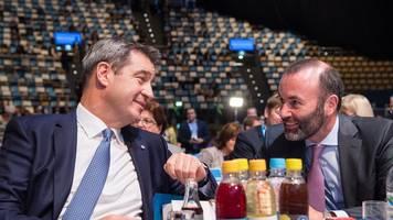 Söder-Vizes gewählt: Weber erhält die meisten Stimmen