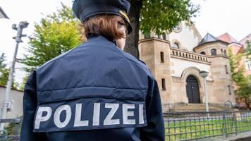 innenminister wollen mehr polizeipräsenz vor synagogen